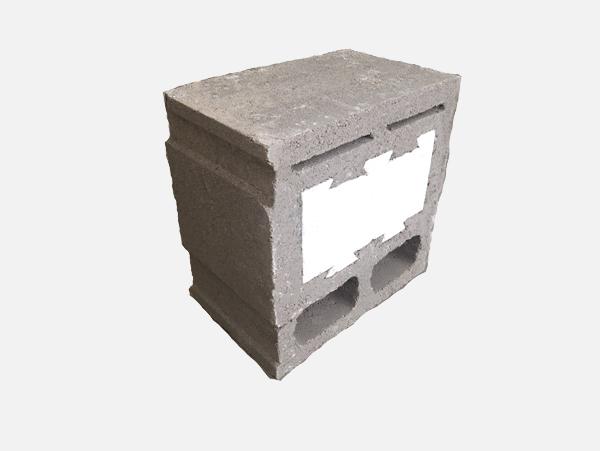 复合自保温砌块--辅助砌块