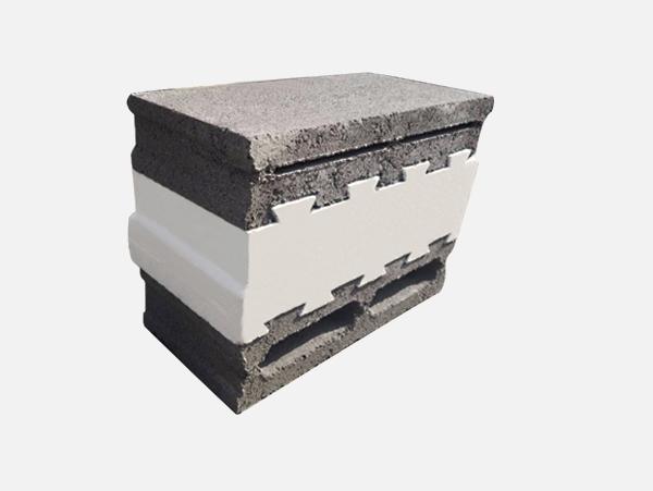 复合自保温砌块--标准砌块